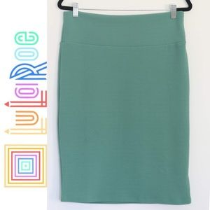 Sea foam green pencil skirt- LulaRoe - Cassie